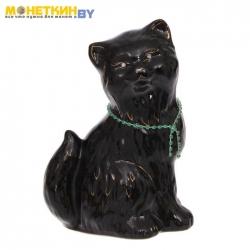 Копилка «Кошка Сима» глазурь черная