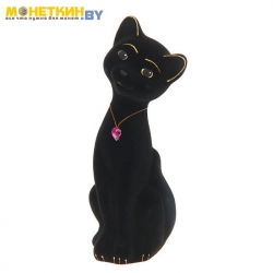 Копилка «Кот Матвей» малый черный
