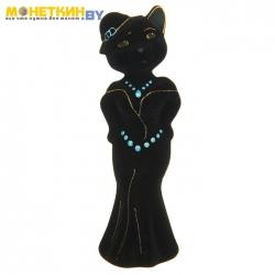 Копилка «Кошка Миледи» черный