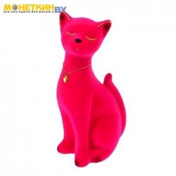 Копилка «Кот Марсик» розовый