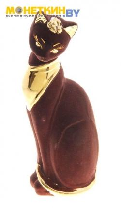 Копилка «Кошка Ася» булат коричневый