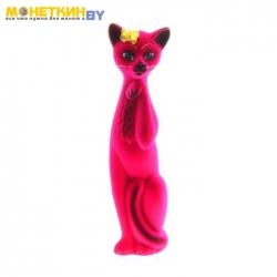 Копилка «Кошка Алиса» розовая