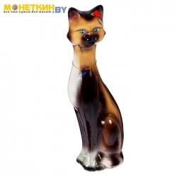 Копилка «Кошка Камила» средняя глянец бежево – шоколадный