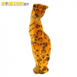 Копилка «Кошка Багира» большая леопардовая