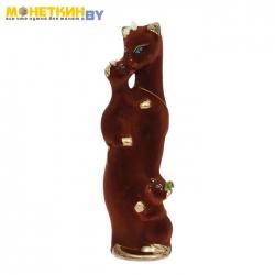 Копилка «Багира мама» коричневая