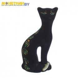 Копилка «Кошка Ласка» черный