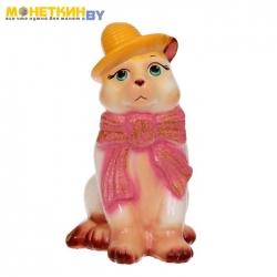 Копилка «Кот в шарфе»