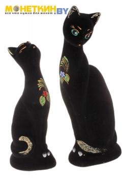 Копилка «Кошки Парочка» черный