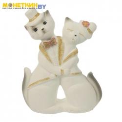 Копилка «Коты пара Танго» белый