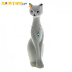 Копилка «Кошка Мурка» малая серый