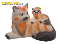 Копилка «Кошка Перс мама» белый
