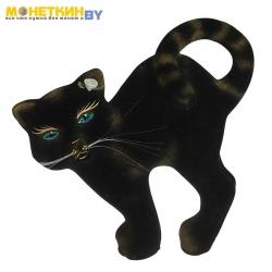 Копилка «Кот бублик» черный