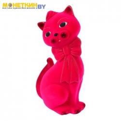 Копилка «Кот Джаспер» розовый