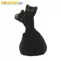 Копилка «Коты пара грация» черный