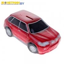 Копилка «Машина Бумер №1» красный