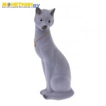 Копилка «Кошка Джесси» серый