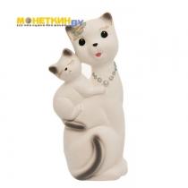 Копилка «Кошка Сьюзи – мама» белый