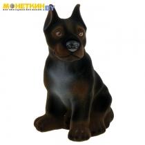 Копилка «Собака Дог» черный