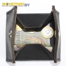 Монетница «Квадрат» чёрная