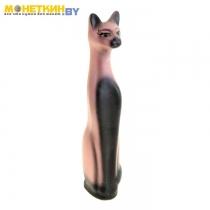 Копилка «Кот» большой акрил розовый