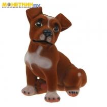 Копилка «Собака Рэкс» коричневый