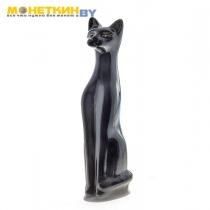 Копилка «Кот» большой черный золото