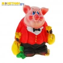 Копилка «Свинка: банкир»