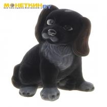Копилка «Собака Малыш» цвет черный