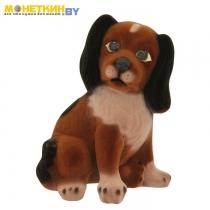 Копилка «Собака Малыш» коричневый
