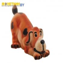 Копилка «Собака Ричард» рыжий