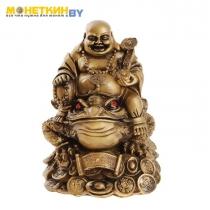 Копилка «Будда на жабе»