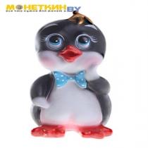 Копилка «Пингвинёнок» чёрная