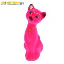 Копилка «Кот Матвей» малый розовый