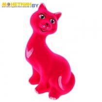 Копилка «Кошка молодая», цвет розовый