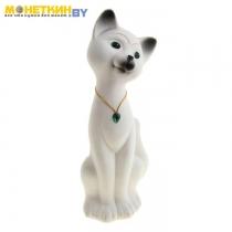 Копилка «Кот Матвей» большой белый