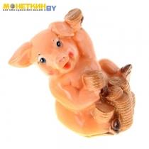 Копилка «Свинка с монетами»