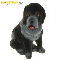 Копилка «Собака Бетховен» черный
