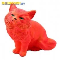 Копилка «Кот Пушок №3» рыжий