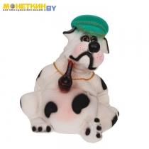 Копилка «Собака Толстопуз в кепке с трубкой»
