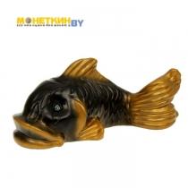 Копилка «Рыбка» черная