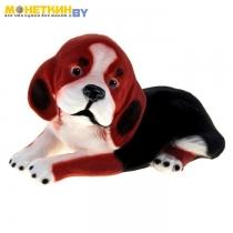 Копилка «Собака Бигль» рыжий
