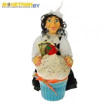 Копилка «Баба Яга с пирожком»