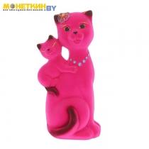 Копилка «Кошка Сьюзи – мама» розовый
