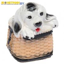 Копилка «Собака в корзине»