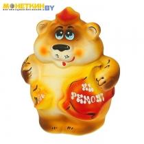 Копилка «Медведь – маляр»