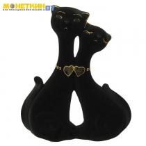 Копилка «Влюбленная пара» черный