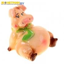 Копилка «Свинка с галстуком»