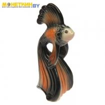 Копилка «Рыба №2» глазурь