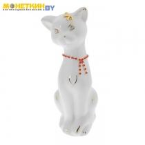 Копилка «Кошка Алиса» глянец белая