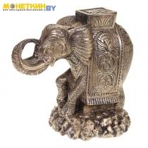 Копилка «Индийский слон» состаренное золото